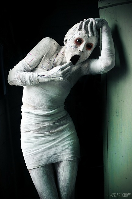 art, dark, grudge, horror, humans, macabre, people, photography, white
