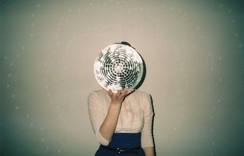 art, disco, disco ball, girl, photo