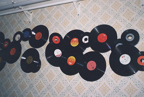 art, music, photography, records, separate with comma