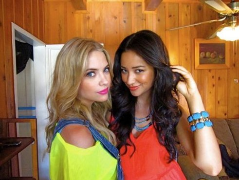 ashley benson, beba :p, pretty little liars, shay mitchell