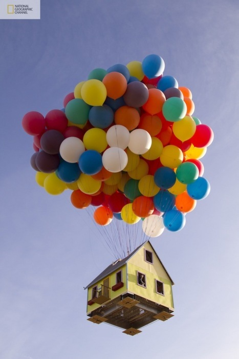 awesome, balloons, cute, house