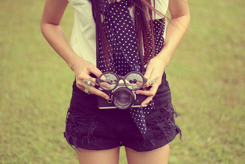 awesome, camera, cute, fashion, girl