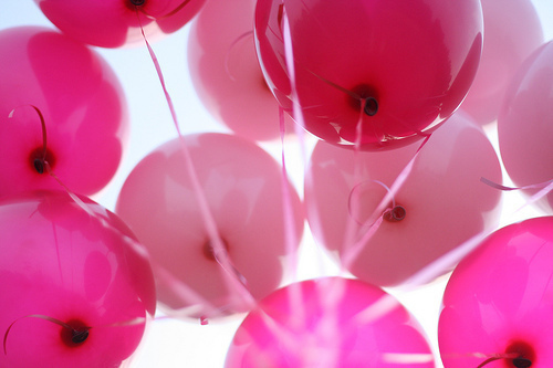 balloons, cute, photography, pink - image #204971 on Favim.com