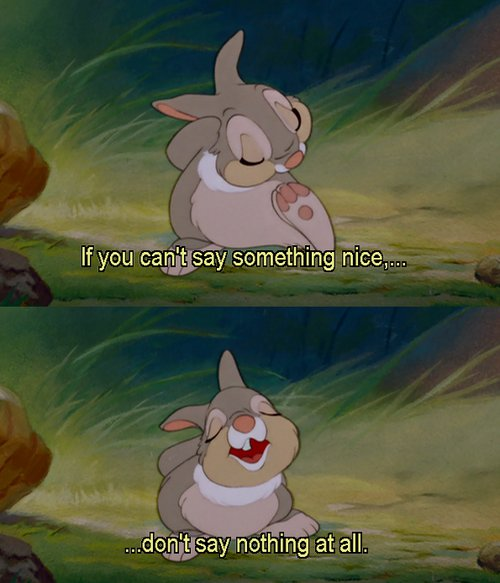bambi, cute, disney, movie, quote
