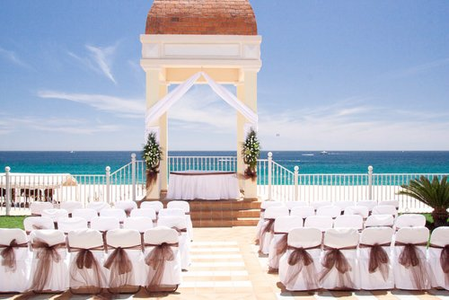 beach, beautiful, glam, glamorous, glamour, island, luxury, ocean, sand, tropical, wedding