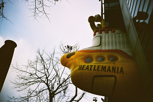 beatlemania, love, the beatles, yellow submarine