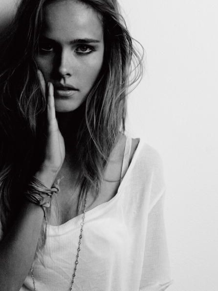 beautiful, black and white, eyes, hair, isabel lucas