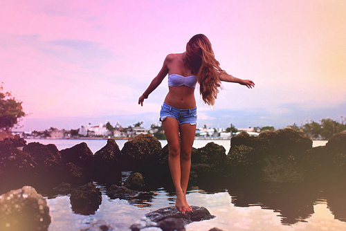 beautiful, girl, pretty, shorts, skinny