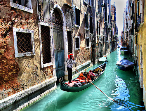 beautiful, gondola, italy, love, pretty, venice