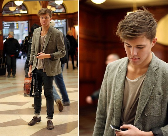 beauty, boy, central station, cute, fashion
