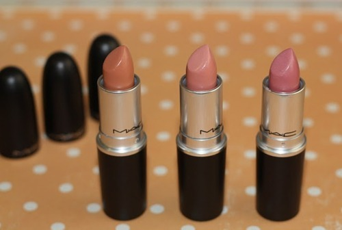 beige, fashion, lipstick, mac, makeup