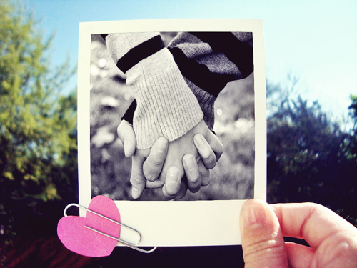 black and white, couple, hand in hand, heart, holding hands, love, photography