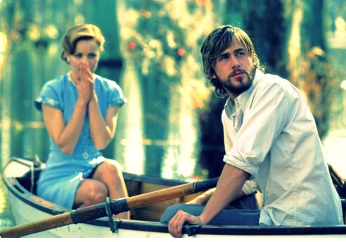 boat, love, rachel mcadams, the notebook