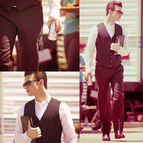 boss, chris colfer, cute, diet coke, diet coke ftw, glee, hot, sunglasses