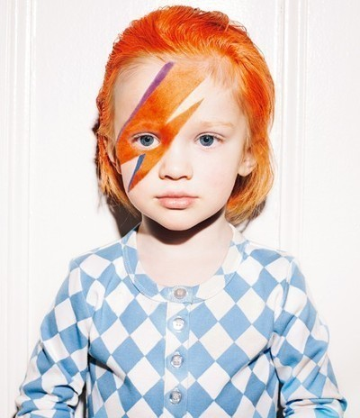 bowie, cute, david bowie, fuffly, kid