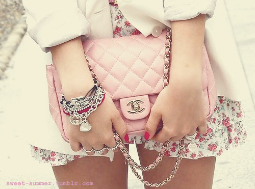 bracelets, chanel, cute, fashion, flower