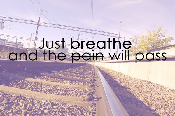 breathe, broken, just, pain, pass, road, text, train