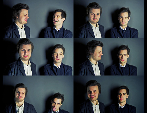 brendon urie, p!atd, panic! at the disco, spencer smith