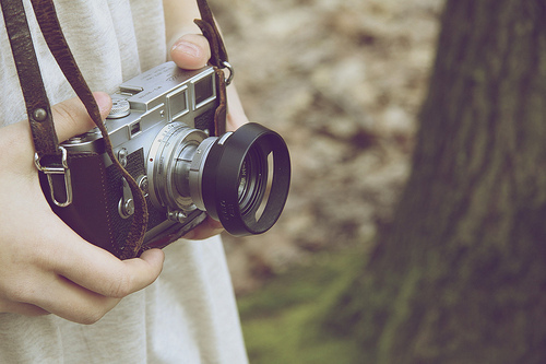 camera, dainty, girl, photography