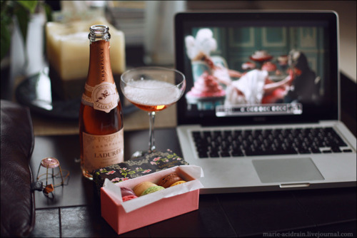 champagne, cool, laduree, marie antoinette