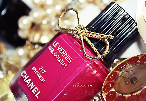 chanel, clock, girl, glam, loop