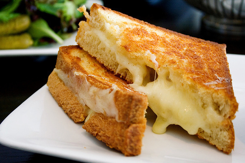 cheese, cheese sandwich, food, sandwich, toast - image #202886 on ...