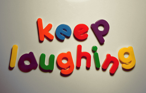The Principle Of An Optimist Tomorrow Will Be: Laughing Colors Quotes. QuotesGram