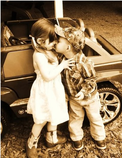 country love, cute, kids