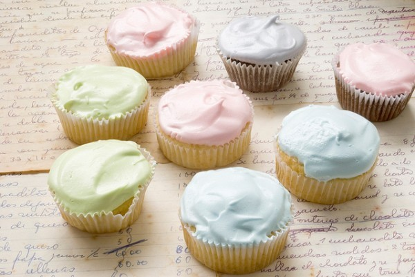 cupcakes, food, pastels, pretty