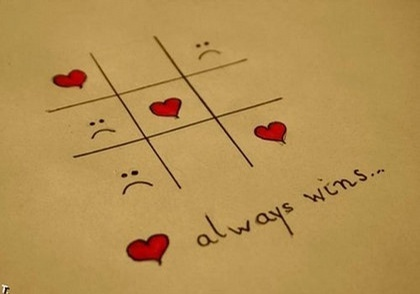 cut, frown, hearts, love, quotes, sd faces, tic tac toe, win, wins