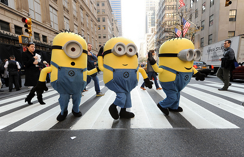 cute, despicable me, funny, minions, new york