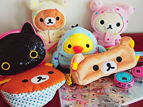cute, fun, rilakkuma