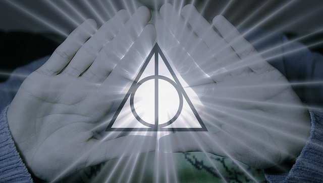 deathly hallows, harry potter, layer, stone, wand