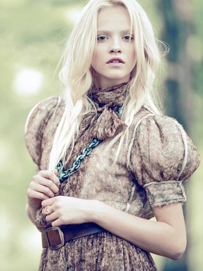 dress, editorial, fashion, ginta lapina, model