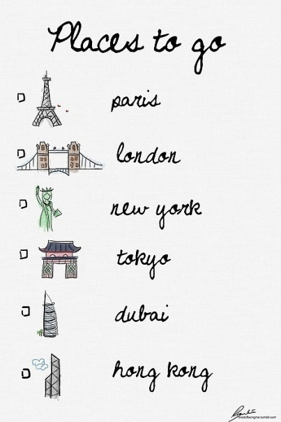 dubai, hong kong, london, new york, paris, separate with comma, tokyo, travel