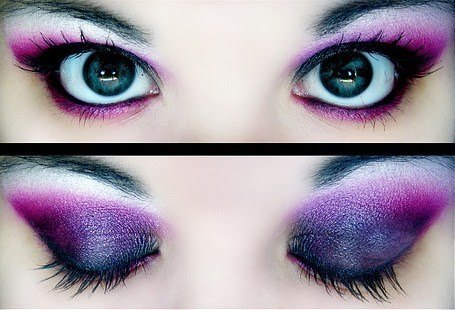 eye-shadow, eyes, make up eyes, makeup, purple