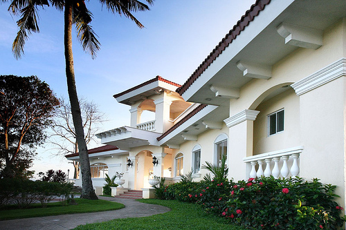 florida, home, house, light, mansion