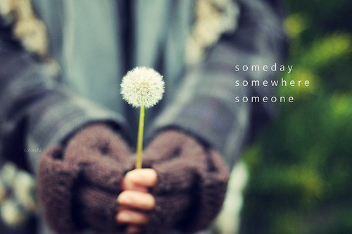 flower, girl, quote