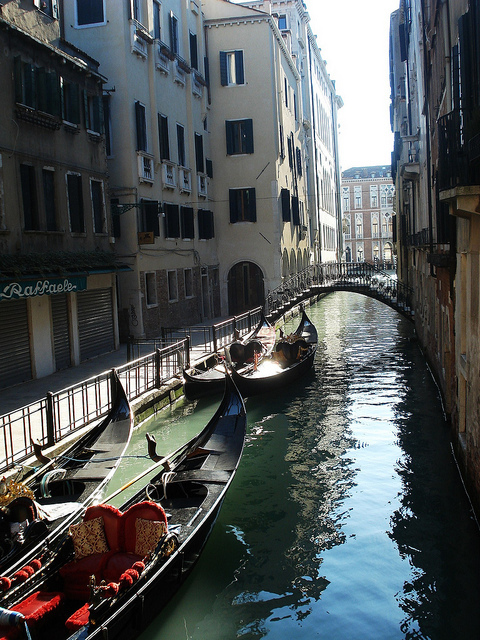 gondola, love, romantic, venice