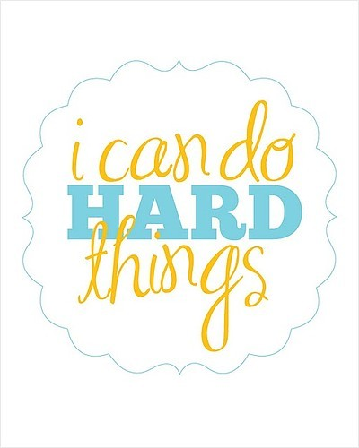 hard, hard things, i can, make things, text