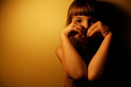 heart, kid, little girl, love