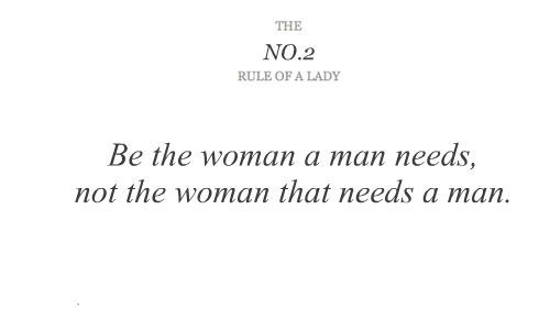 ladies, lady, quote, rule of a lady, rules of ladies