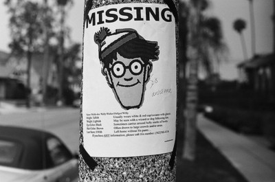 missing, missing poster, waldo, wally, wheres wally