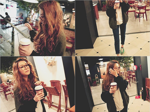 asian, cafe, coffee, collage, drink