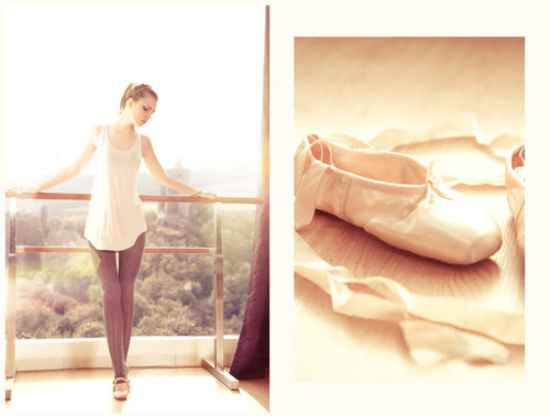 ballet, cute, dance, dancing, girl, photography, pink, pretty, shoes, sky