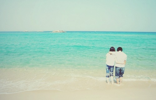 beach, blue, couple, cute, photography