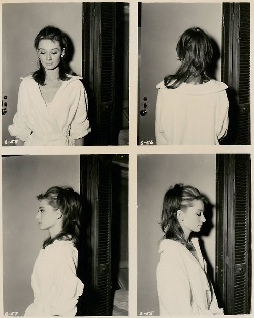 audrey hepburn, b&w, beauty, black and white, hepburn, poloroid, pretty, vintage