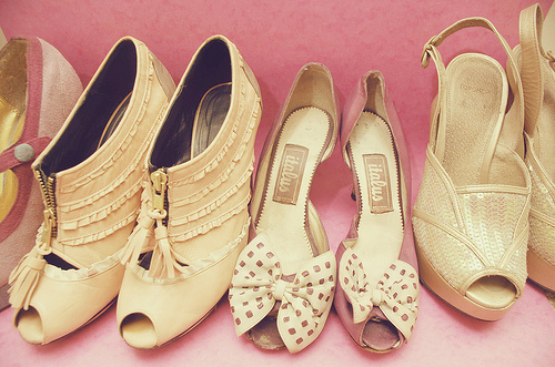 beige, cute, fashion, girly, glamour, pink, pretty, shoes