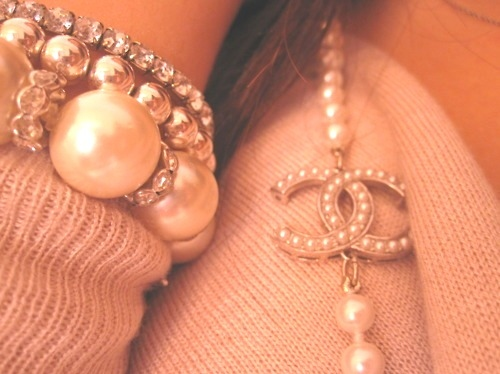 bracelet, chanel, chanel necklace, cute, fashion