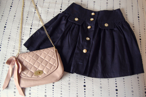 cute, fashion, girly, outfit, purse